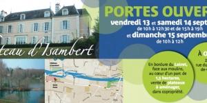 illustration Portes Ouvertes - Château ISAMBERT