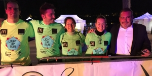 illustration LIGHT UP RUN Orléans 2017