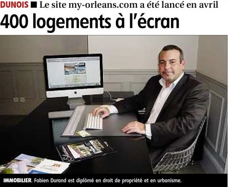 photo Lancement site Internet My-Orléans.com 1