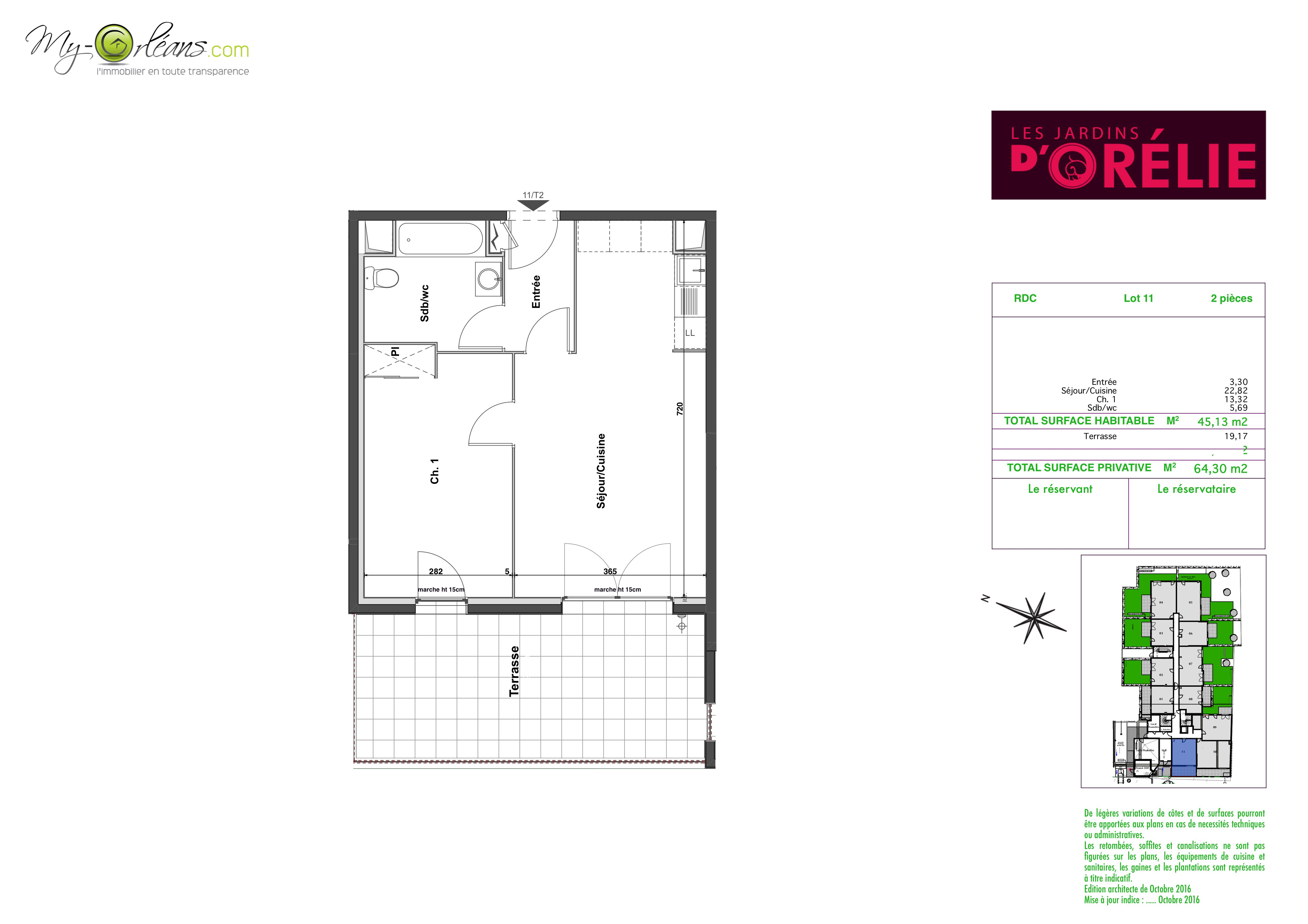 plan Appartement JAR11