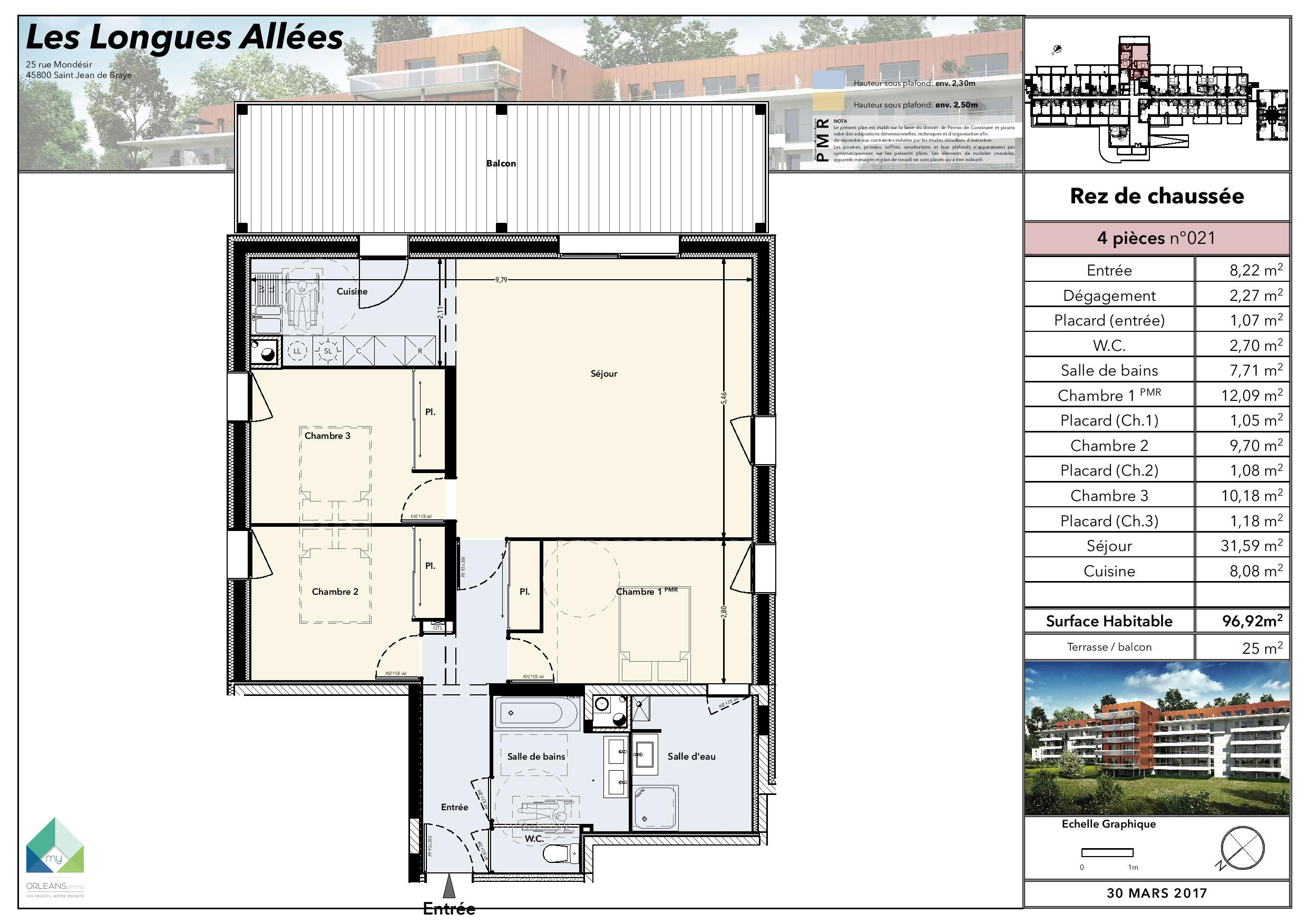 plan Appartement LLA-RDC21