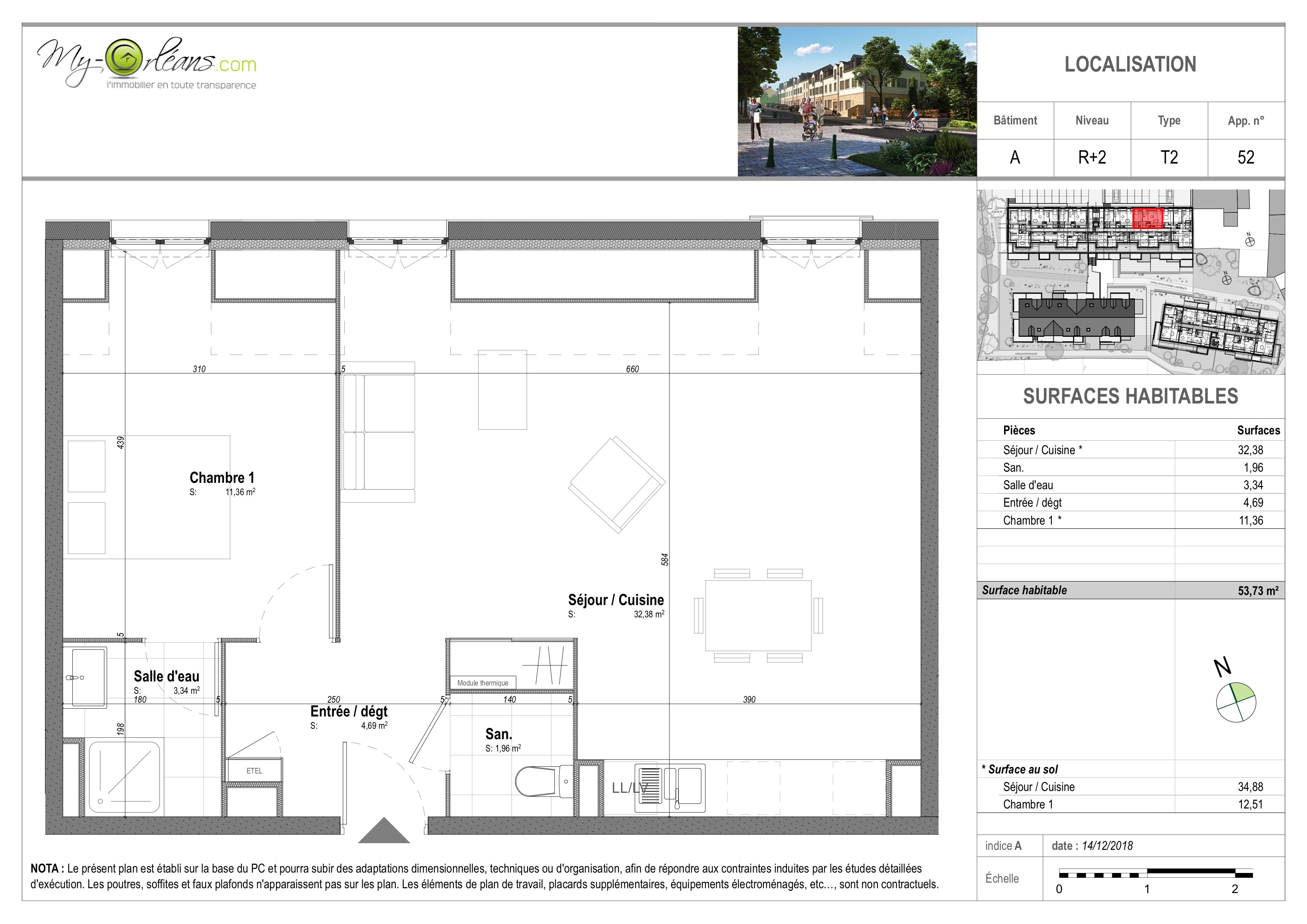 plan Appartement VDSA52
