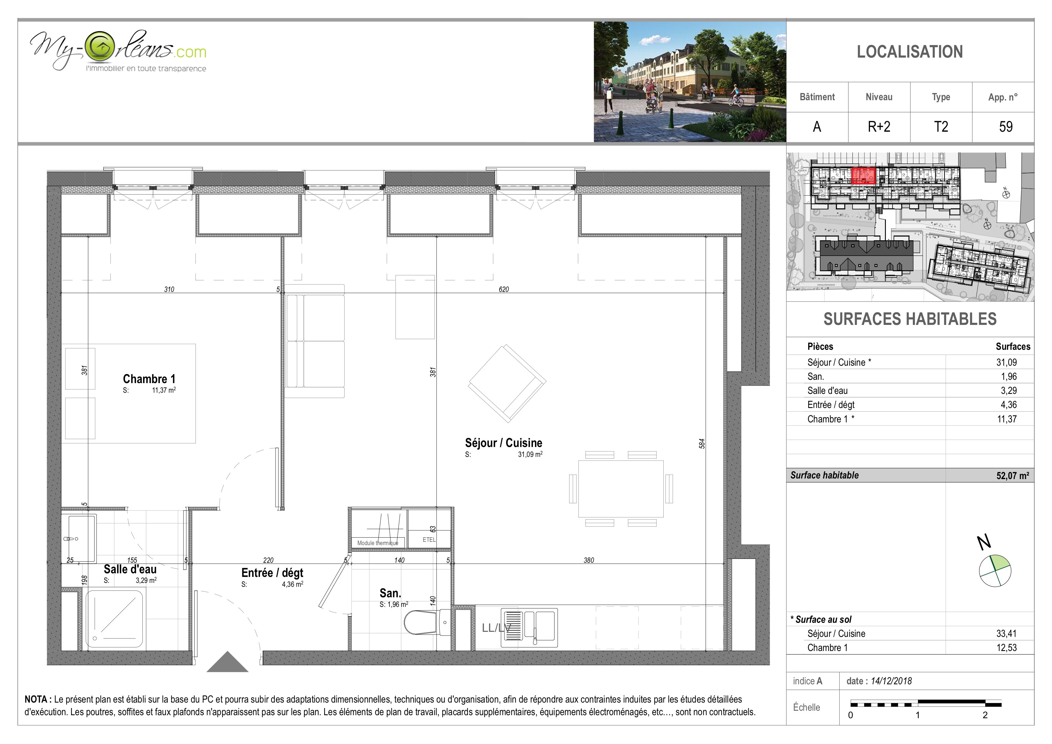 plan Appartement VDSA59