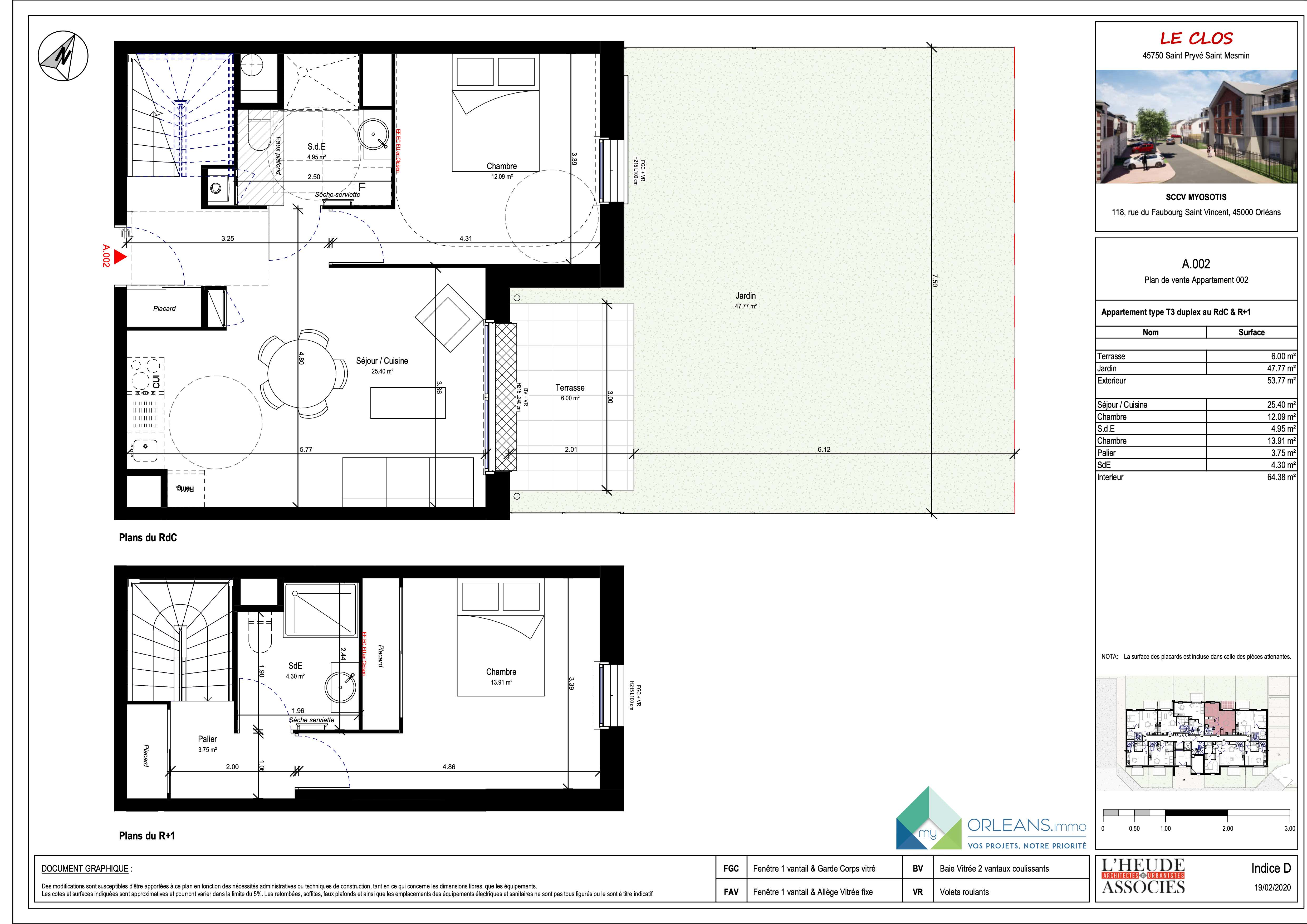 plan Appartement MYOA02
