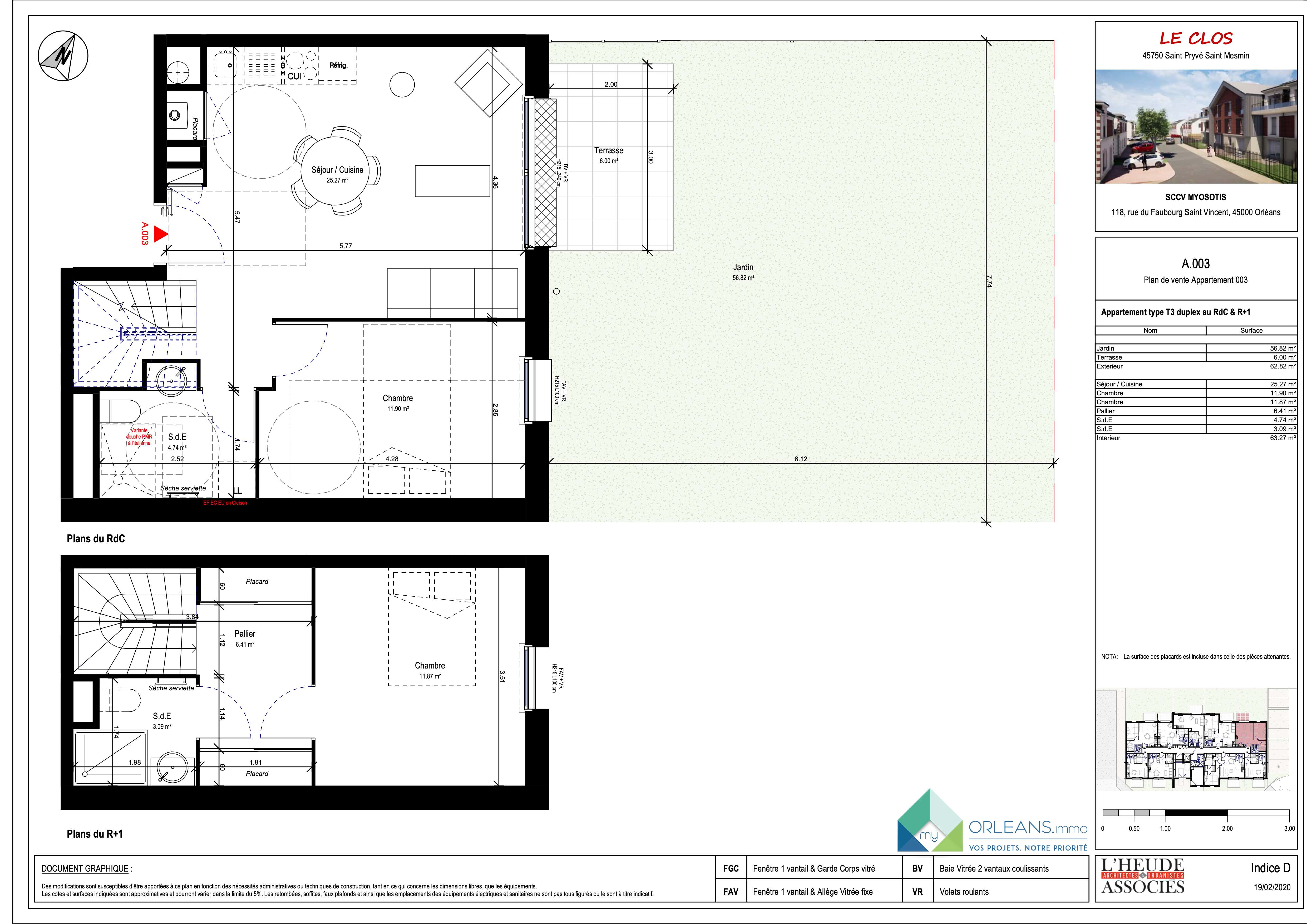 plan Appartement MYOA03