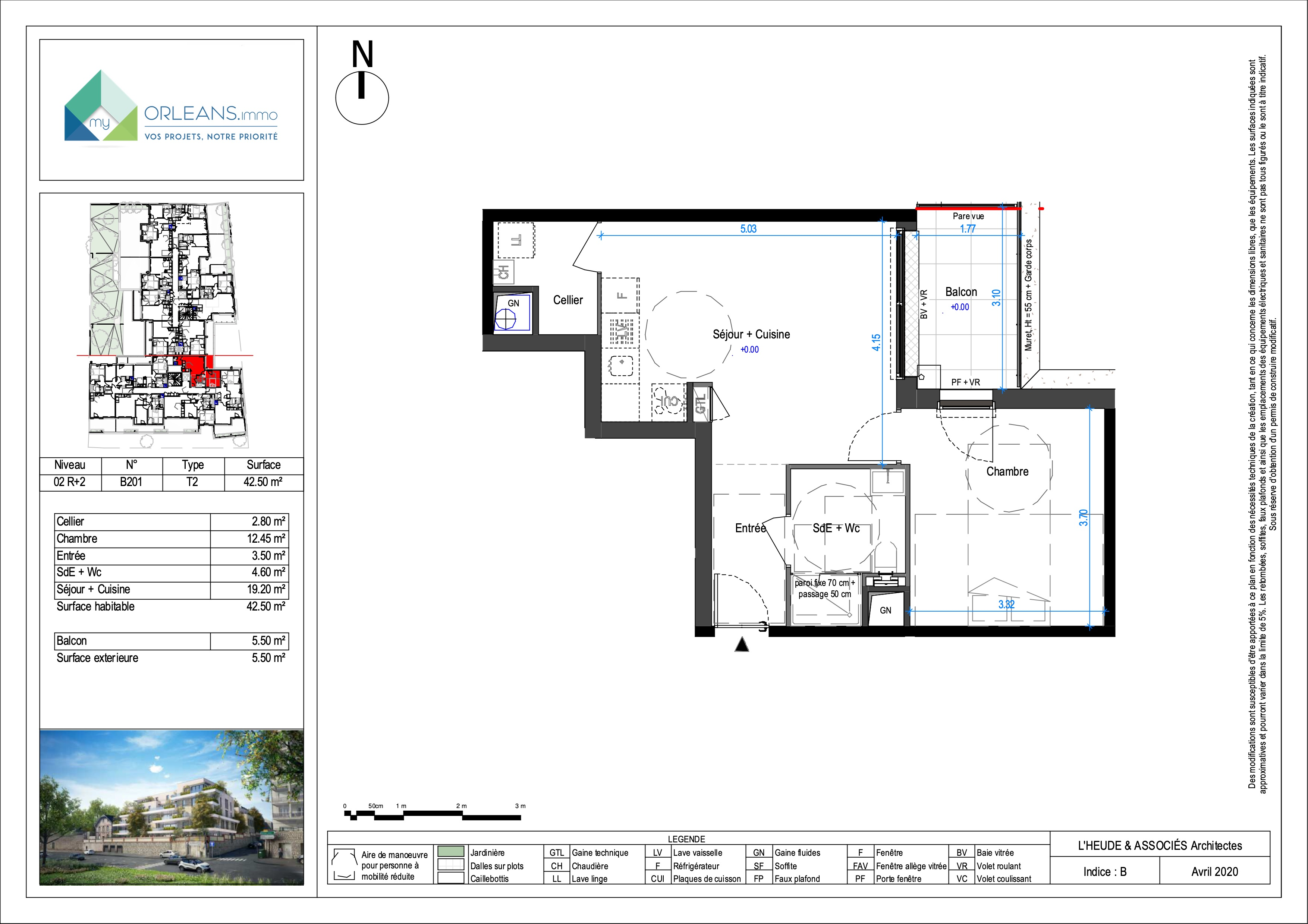 plan Appartement LOIRB201